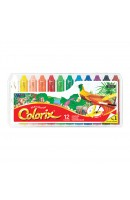 AM CRX5PC12: Amos Colorix Silky Crayon 12 colours