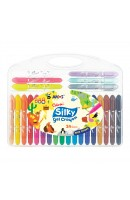 AM CSG24: Amos Silky Gel Crayon 24 Colours