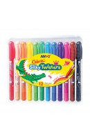 AM CST12: Amos Colorix Silky Twisters 12 Colours