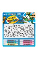 AM PS10B6-D1: Amos Glass Deco - Peelable Sticker 10.5ml