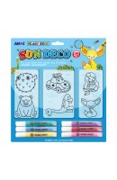 AM SD10B6-D1: Amos Sun Deco - 6 Suncatchers