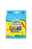 AM CM12P-L: Amos Colour Buddy 12 colours - Long