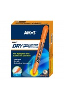 AM HLD12D-OR: Amos Dry Highlighter - Orange