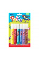 AM PUP10B6: Amos Puffy Paint - 6 Colours