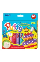 AM PUP10P10: Amos Puffy Paint - 10 Colours