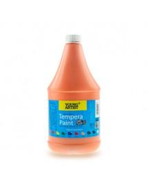 """Young Artist Tempera Paint 2L """"Orange"""" - AP920-02"""