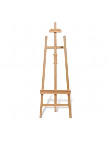 French Rear Support Easel - 53 cm x 155 cm - EA 202B