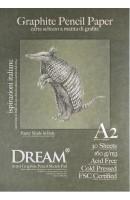 DREAM© Graphite Pencil Paper - GCP160A2-30