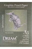 DREAM© Graphite Pencil Paper - GCP160A3-30