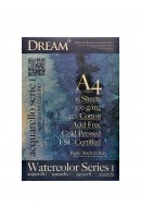 DREAM© Watercolour Paper Series 1 - WCP300A4-15